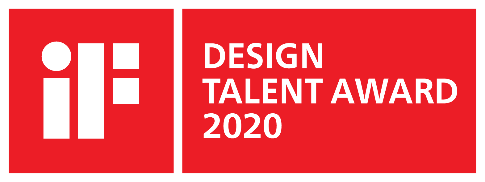 iF DESIGN TALENT AWARD_01 2020