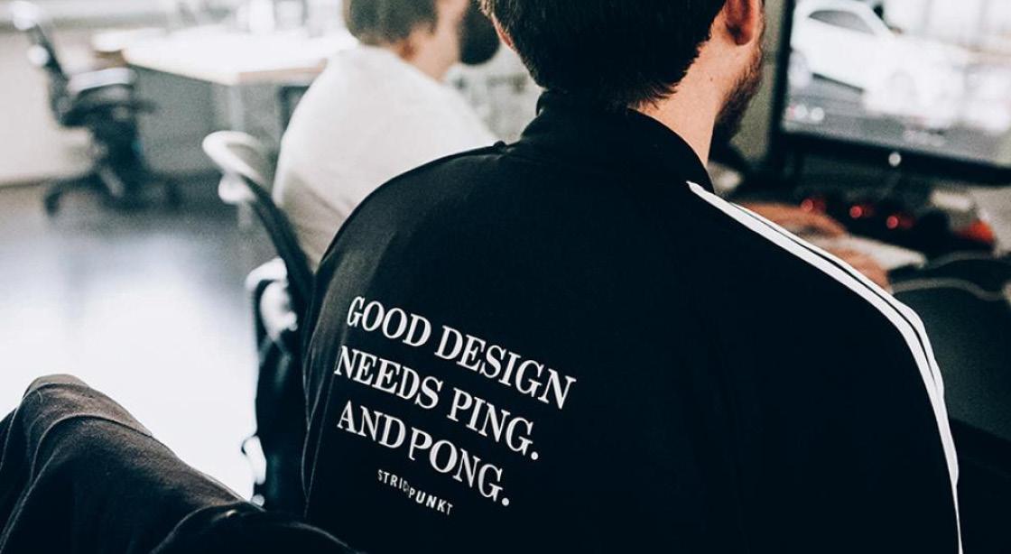 Strichpunkt Design