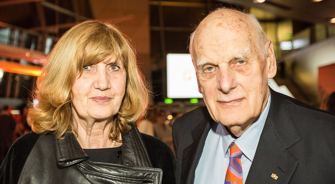 Richard and Dorit Sapper at the 2015 iF design award night
