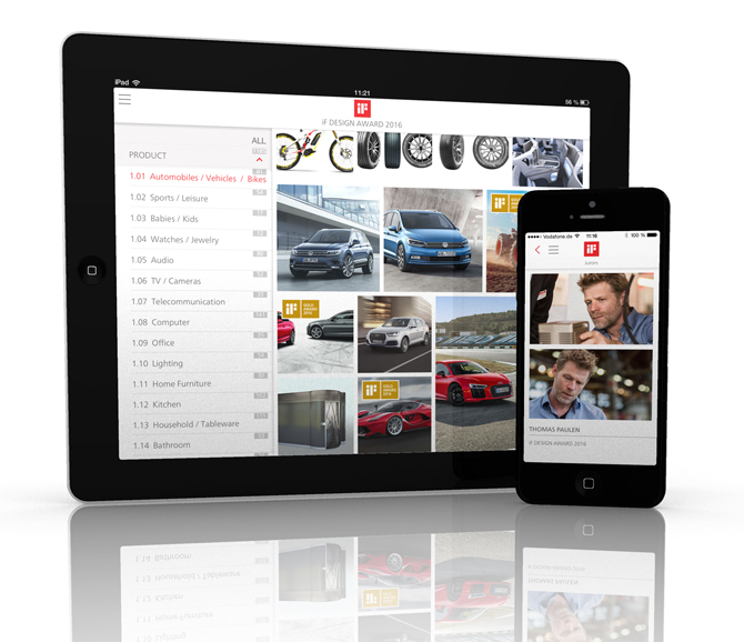 iF design app